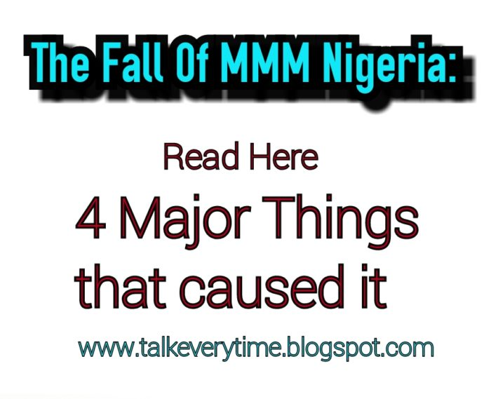 Four Major Parties that led to the fall of MMM... Read here
