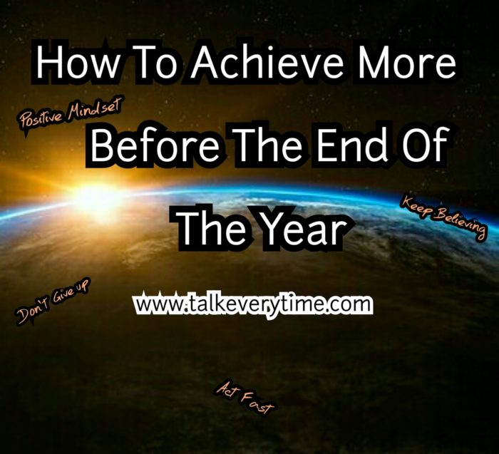 How To Be More Successful For the rest of the year
